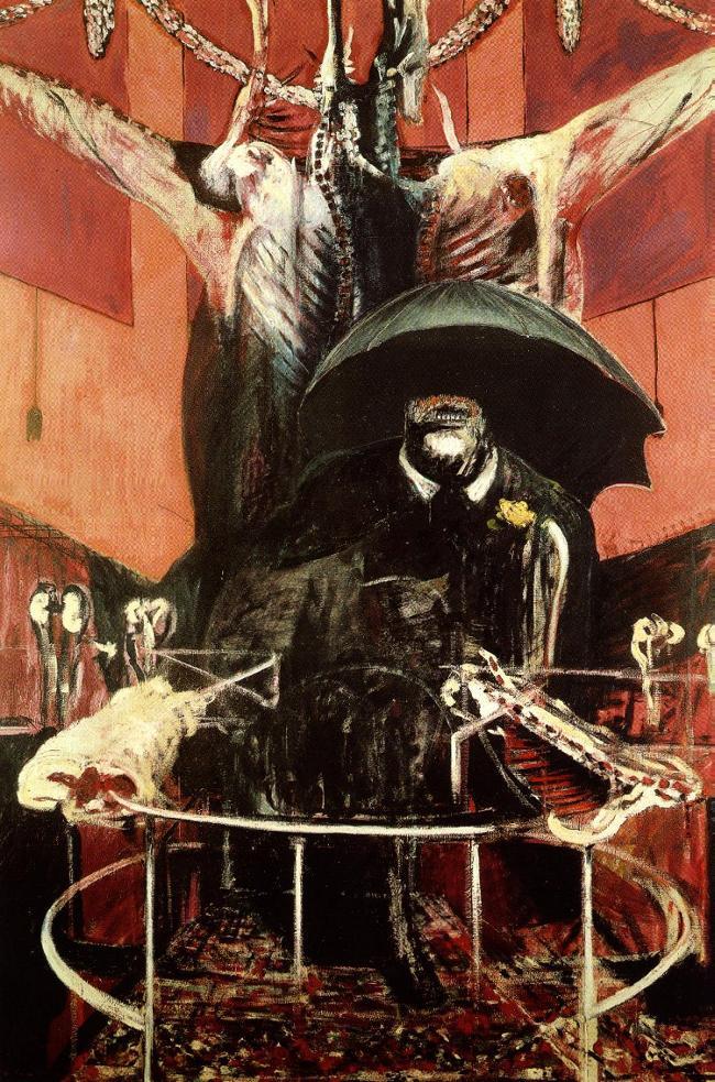 Cette Painting hallucinante de Francis Bacon annonce déjà les thèmes Silent Hill-esque.